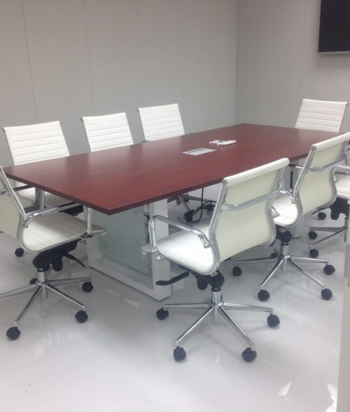 Modern cherry 10 foot conference table direct office for 10 foot conference table